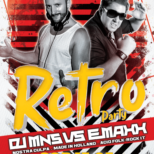 RETRO PARTY pres. DJ MNS & DJ EMAXX