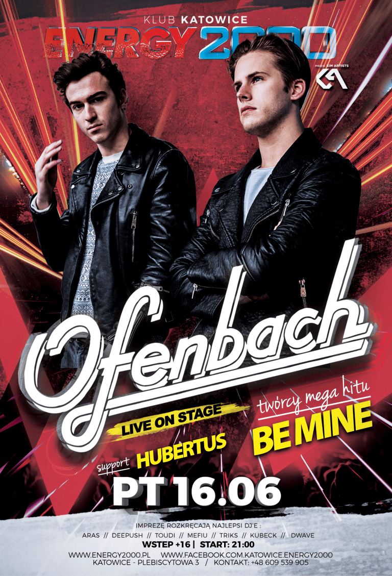 "Ofenbach – ""Be Mine"" Tour"