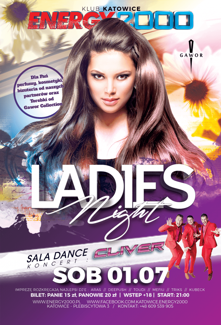 Super Ladies Night & koncert CLIVER