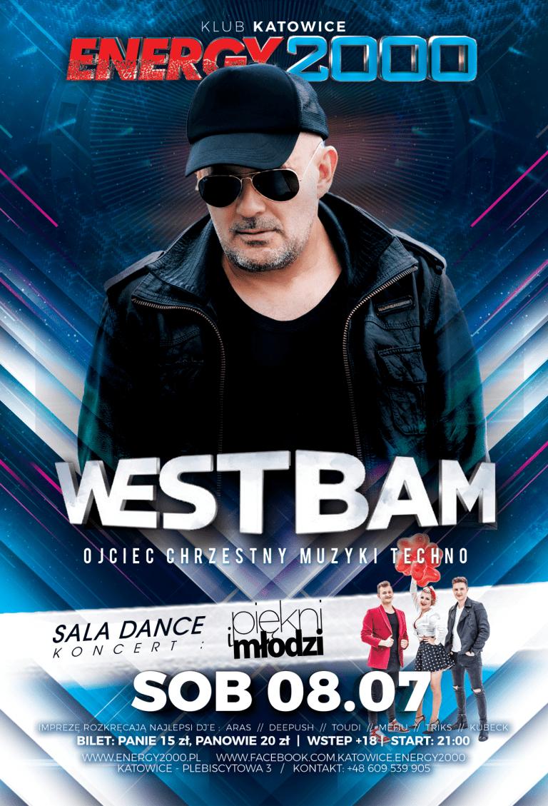 WESTBAM live on stage & Koncert Piękni i Młodzi