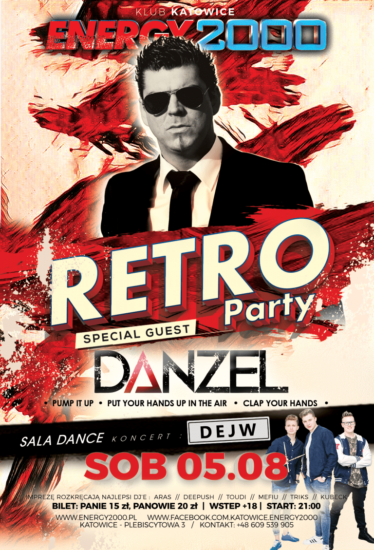 RETRO PARTY – DANZEL