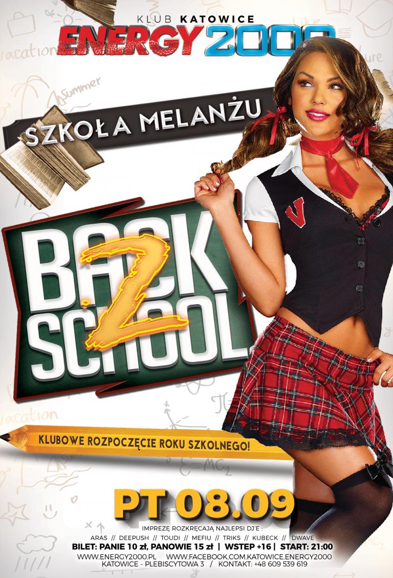 Back to School – Klubowe rozpoczęcie roku szkolnego!