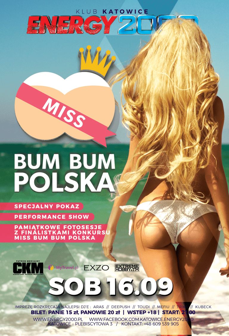 MISS BUM BUM POLSKA w Energy2000