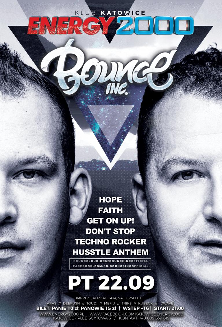 BOUNCE INC. live show