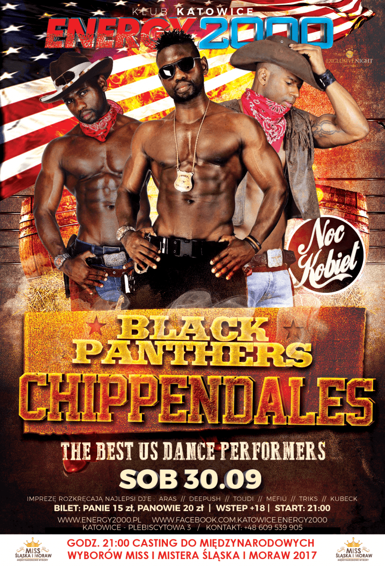 Black Panthers – USA Chippendales