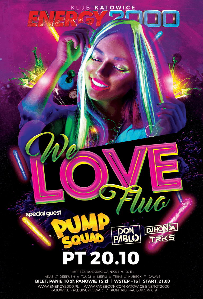 WE LOVE FLUO!
