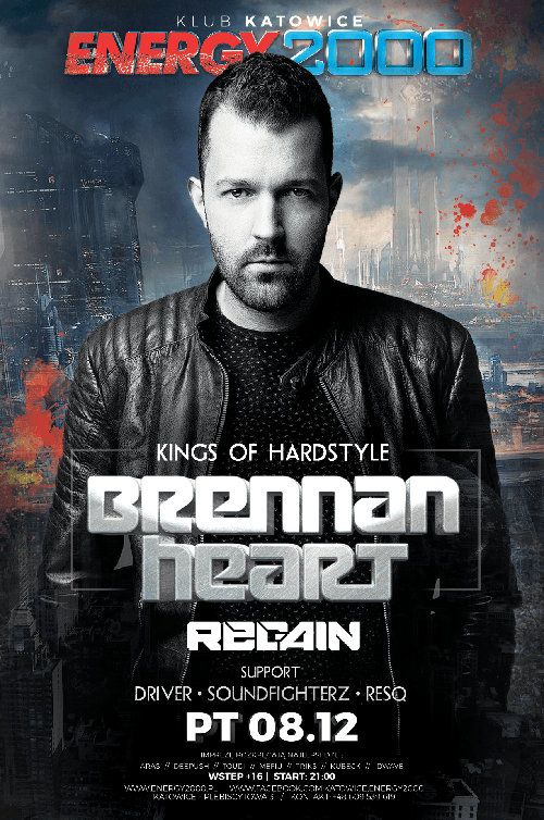 KINGS OF HARDSTYLE – BRENNAN HEART