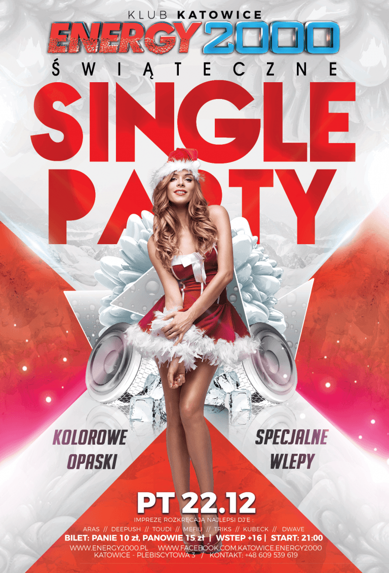 ŚWIĄTECZNE SINGLE PARTY