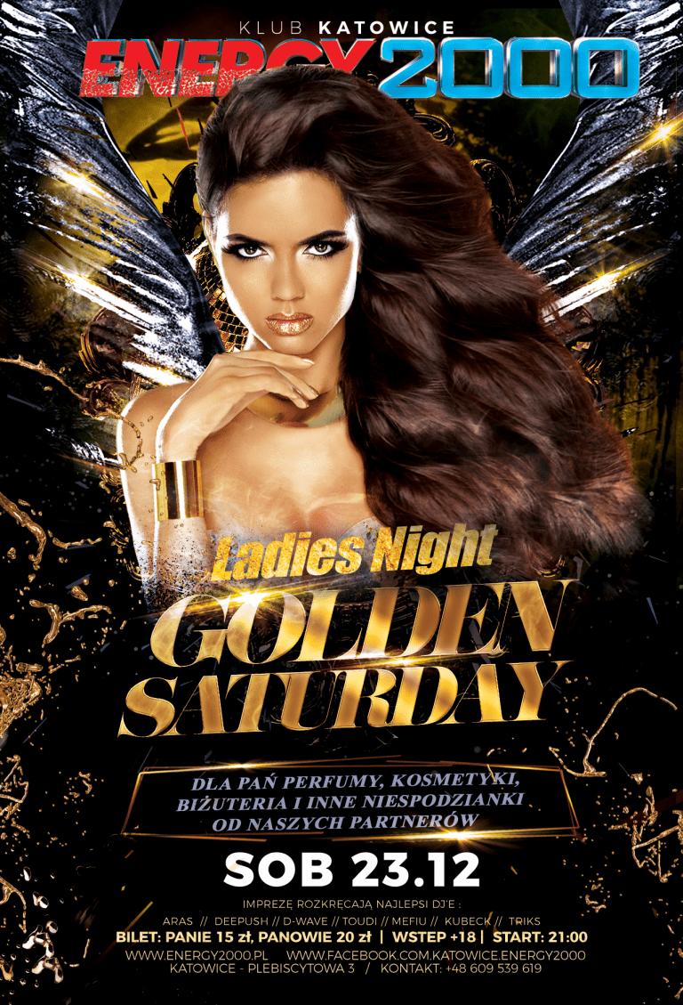 GOLDEN SATURDAY – NOC KOBIET