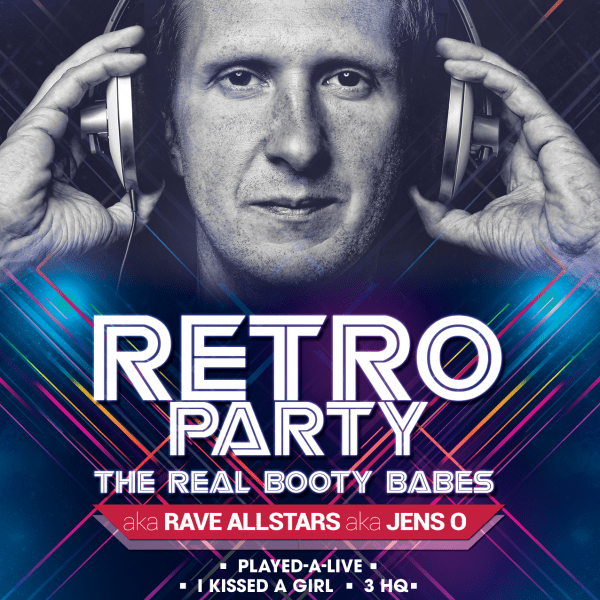 RETRO PARTY – THE REAL BOOTY BABES