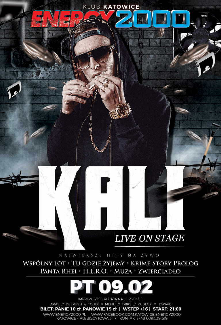 KALI  – Hip Hop Night
