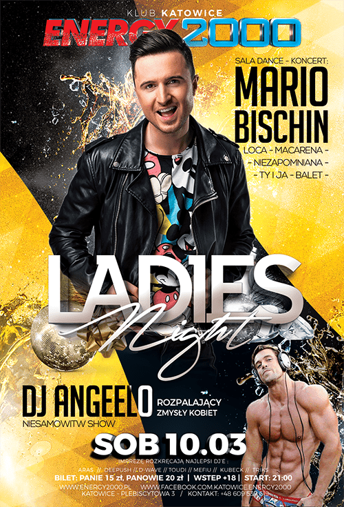 Ladies Night MARIO BISCHIN + DJ Angeelo