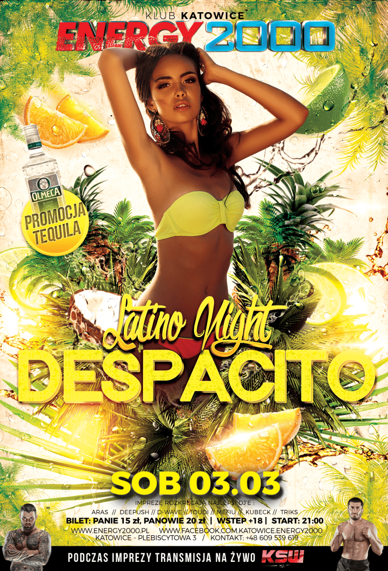 DESPACITO – LATINO NIGHT
