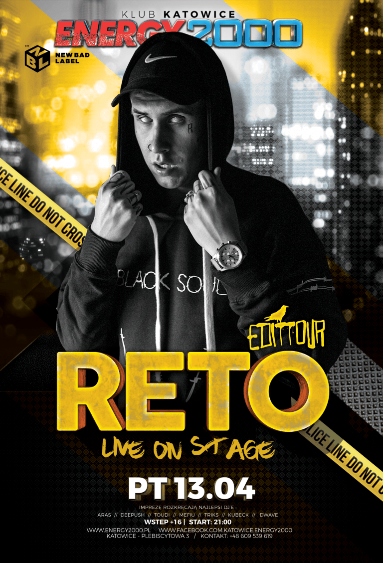 RETO LIVE ON STAGE