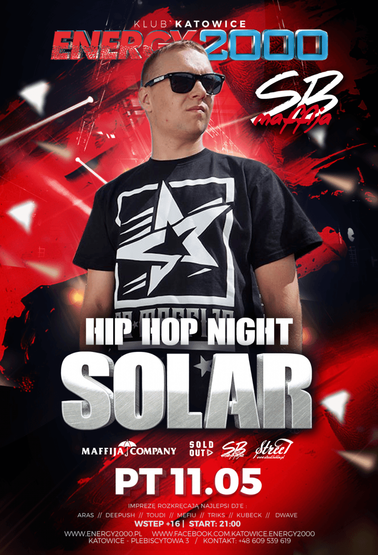 SOLAR – SbMaffija – HipHop night