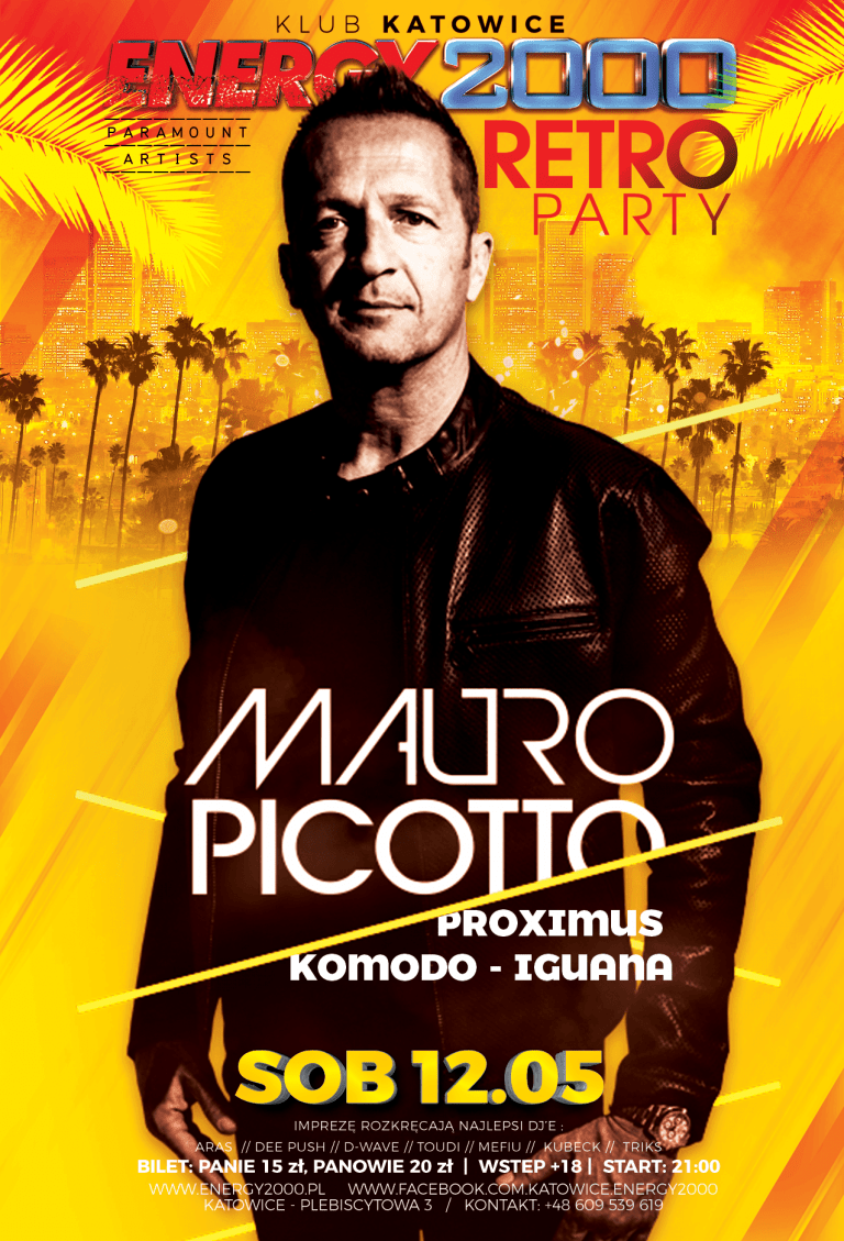 MAURO PICOTTO – RETRO PARTY