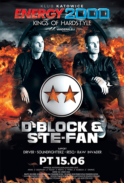 KINGS OF HARDSTYLE – D-BLOCK S-TE-FAN