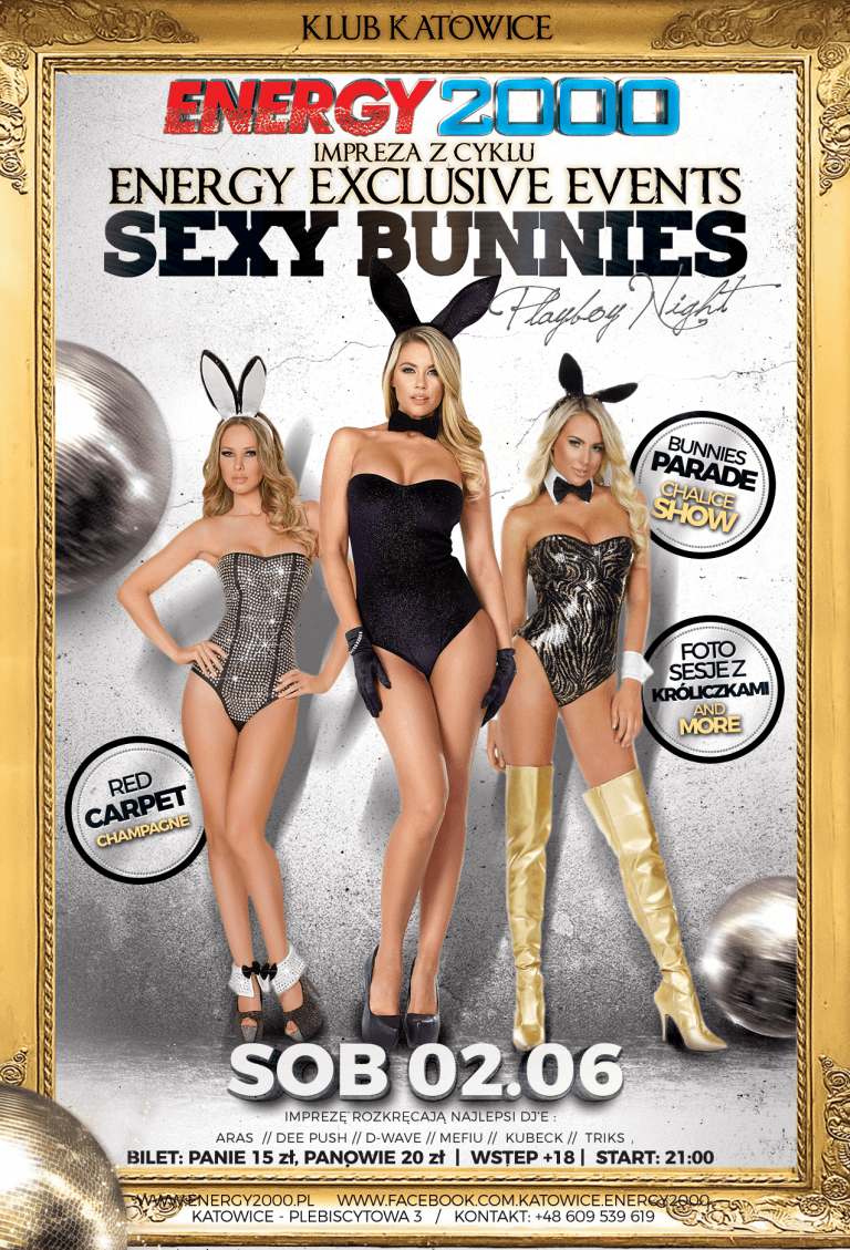 SEXY BUNNIES Energy Eclusive Night