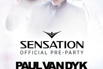 SENSATION OFFICIAL PRE PARTY ★ PAUL VAN DYK ★ ALEX M.O.R.P.H. ★ MR. WHITE