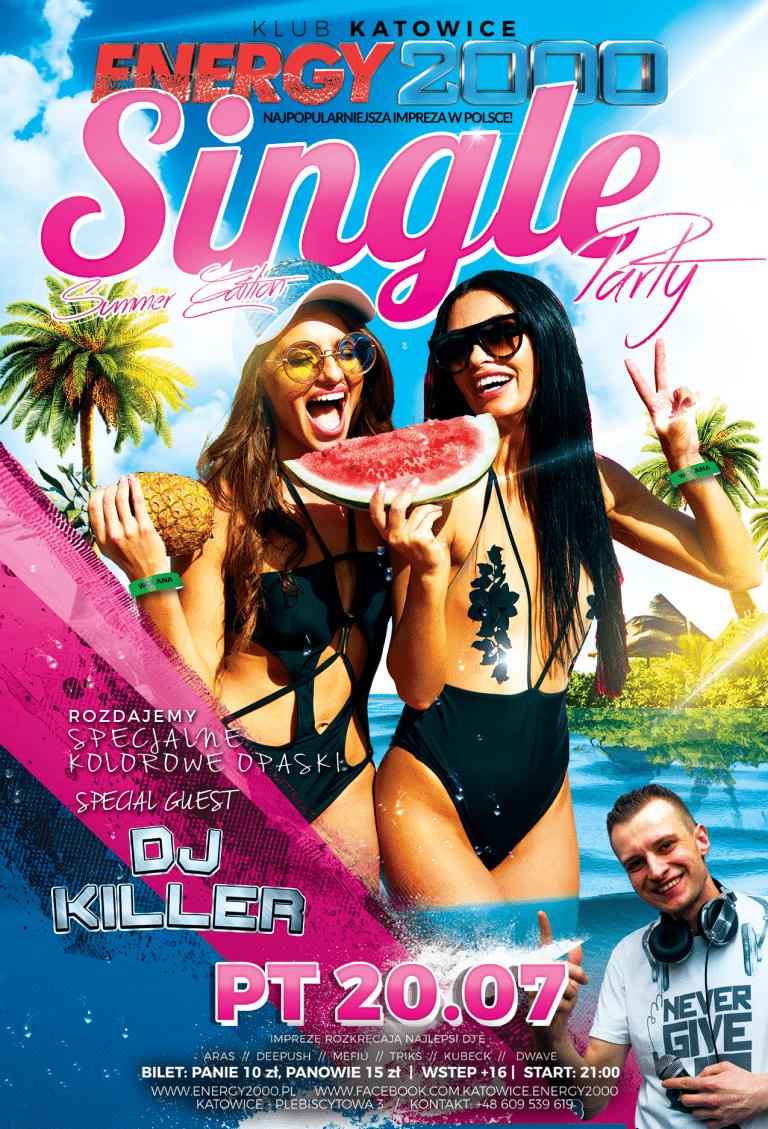 SINGLE PARTY SUMMER EDITION DJ KILLER