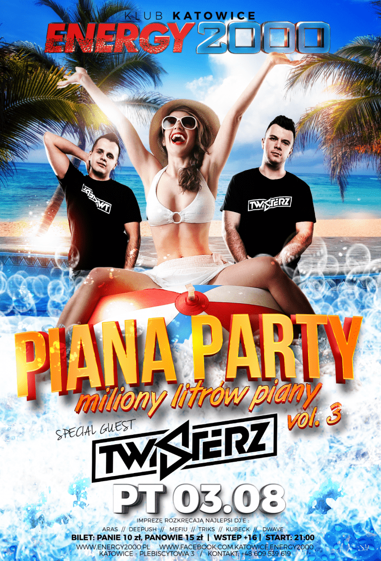 PIANA PARTY VOL. 3 PRES TWISTERZ