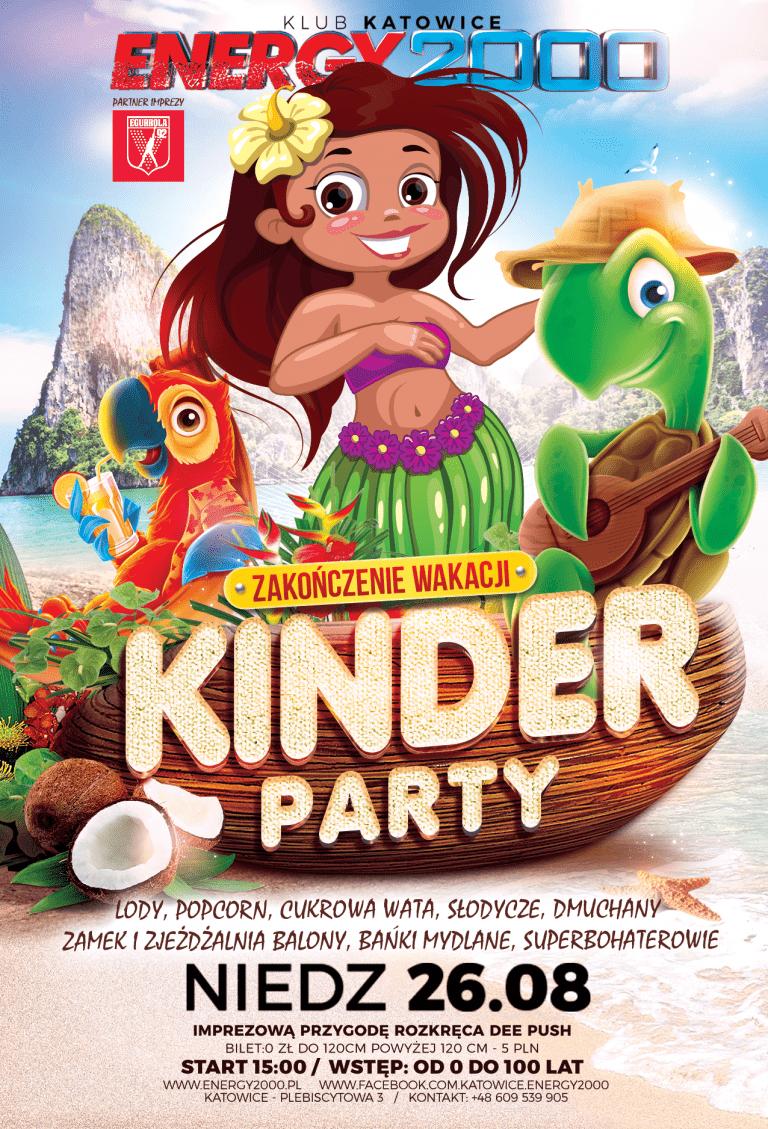 Kinder PARTY – Zakończenie wakacji 2018