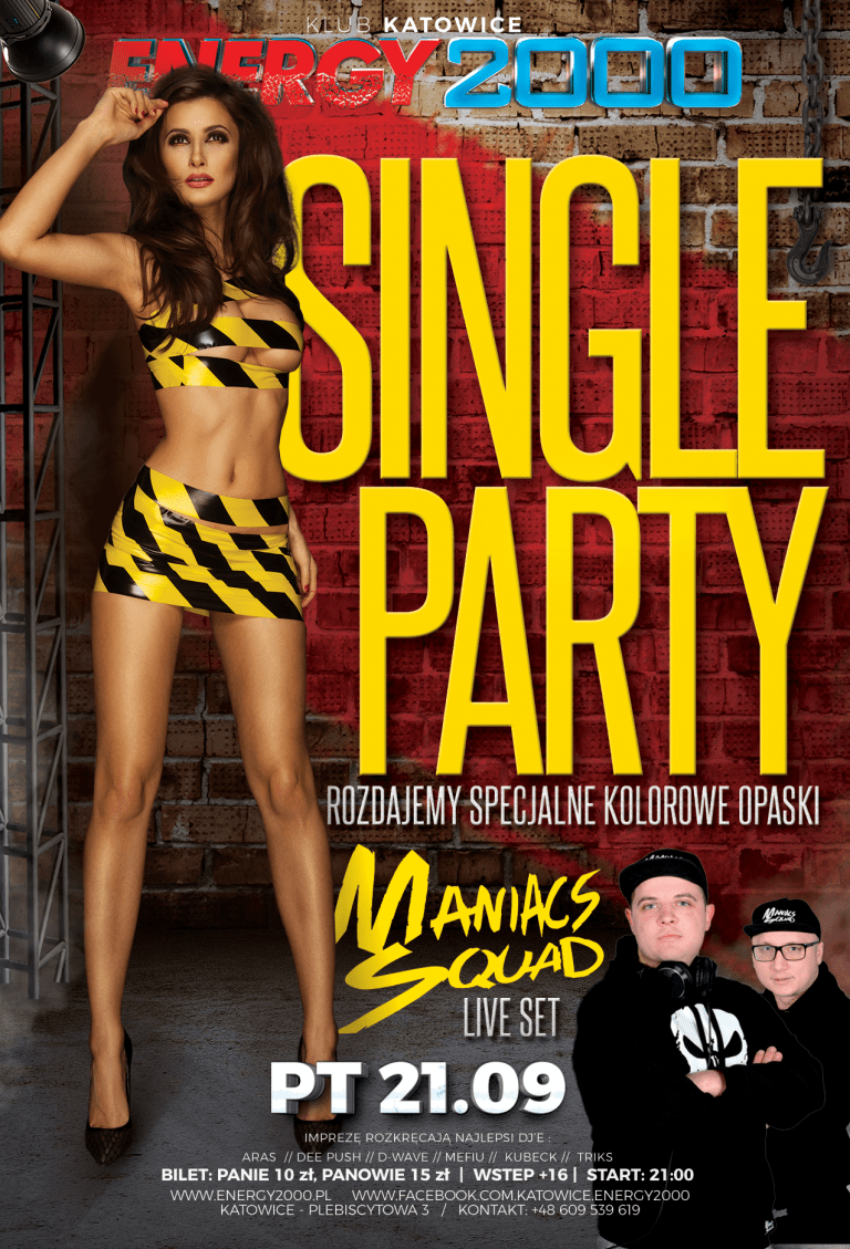 SINGLE PARTY ★ MANIACS SQUAD