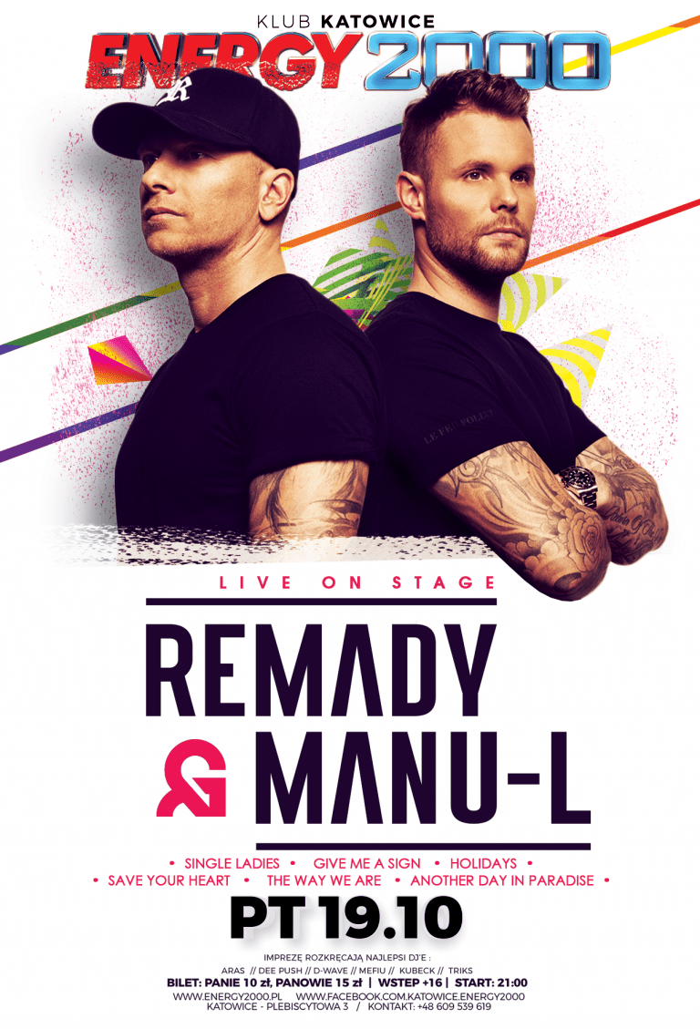 REMADY & MANU-L LIVE ON STAGE