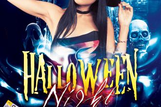 Halloween NIGHT ★ Upiornie straszna impreza
