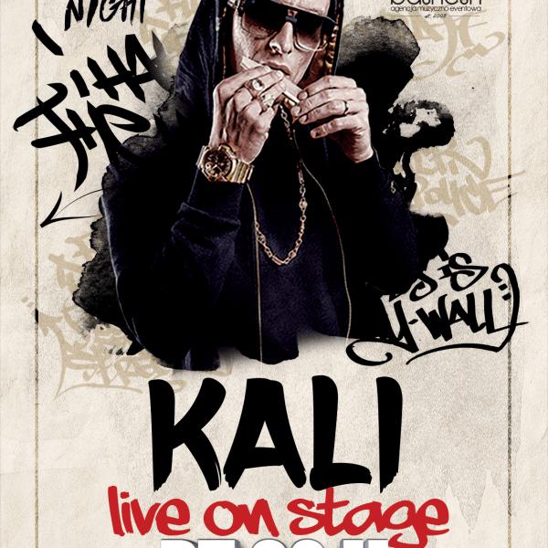 KALI ☆ Live On Stage ☆ Hip-Hop Night