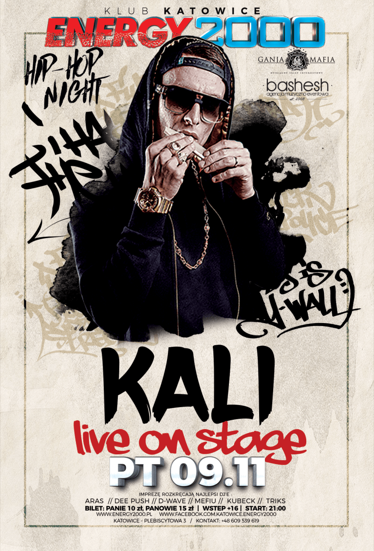 KALI ☆ Live On Stage ☆ Hip-Hop Night