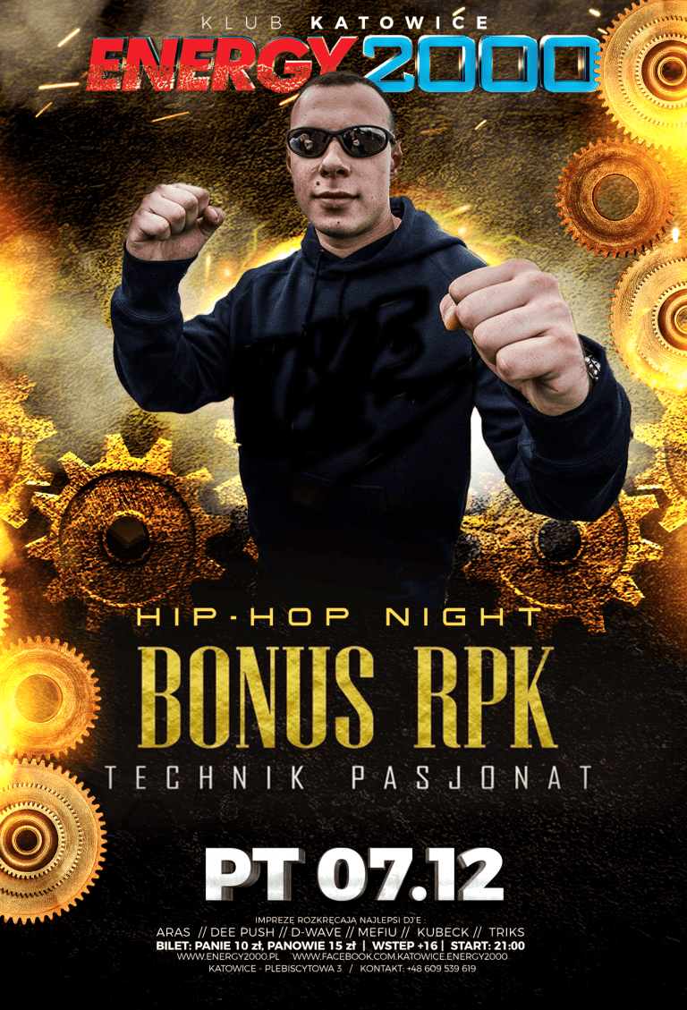 BONUS RPK ★ HIP-HOP NIGHT