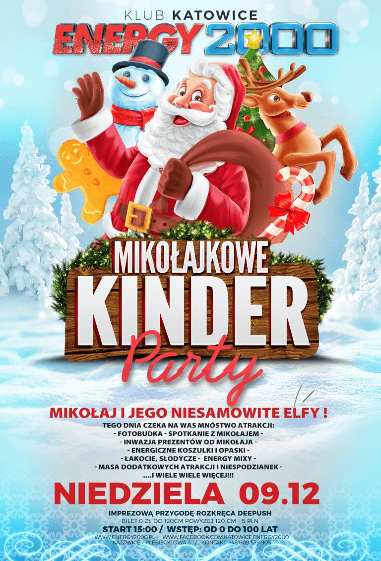 Mikołajkowe Kinder Party ★ Niedziela 09.12