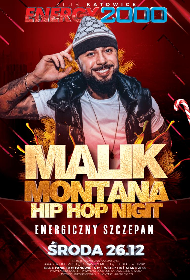 Energiczny Szczepan ☆ Malik Montana ☆ Środa 26.12