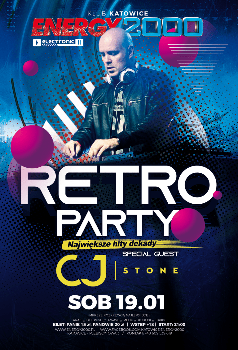 RETRO PARTY ★ CJ STONE