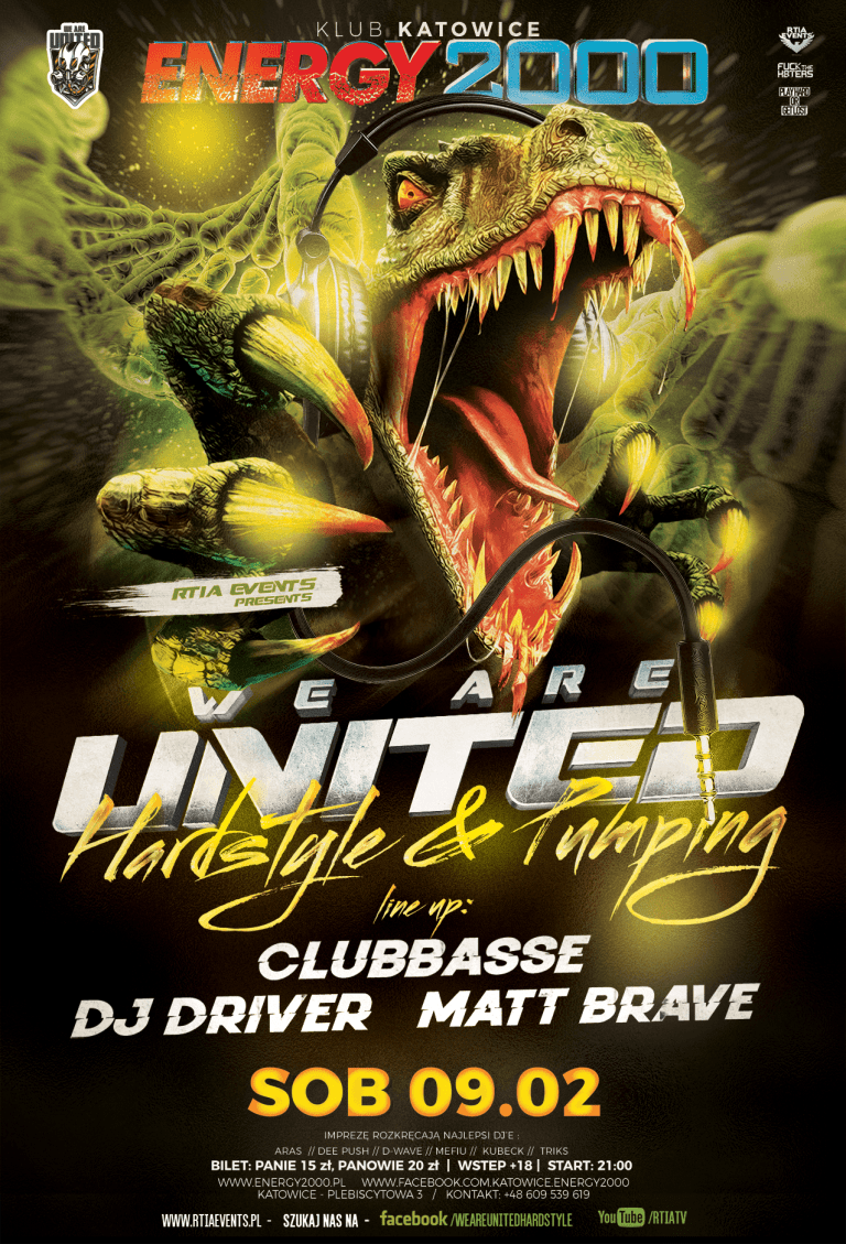 WE ARE UNITED ★ Hardstyle & Pumping