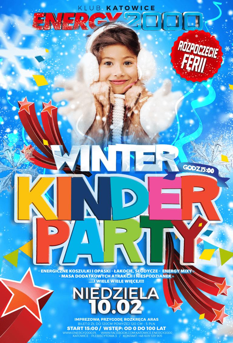 WINTER KINDER PARTY ★ FERIE ZIMOWE 2019