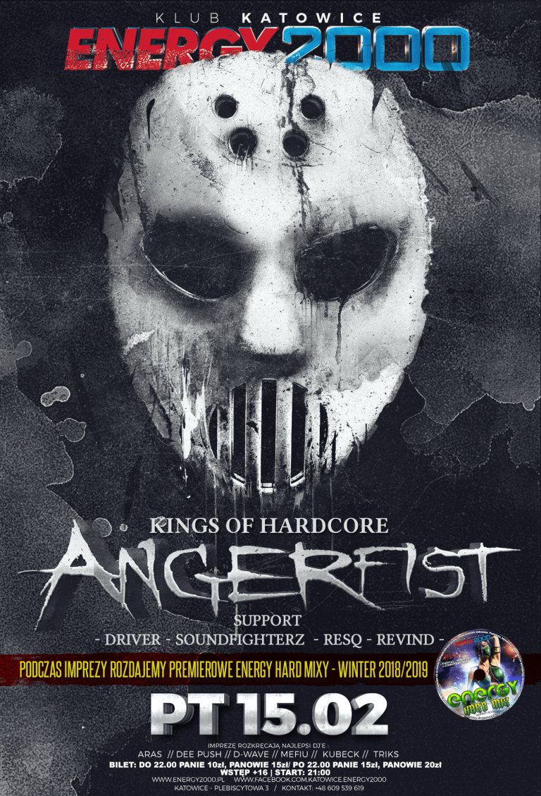 ANGERFIST ★ Kings of Hardcore