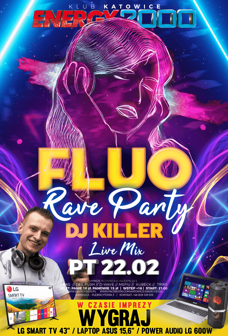 Fluo Rave Party ★ Dj Killer