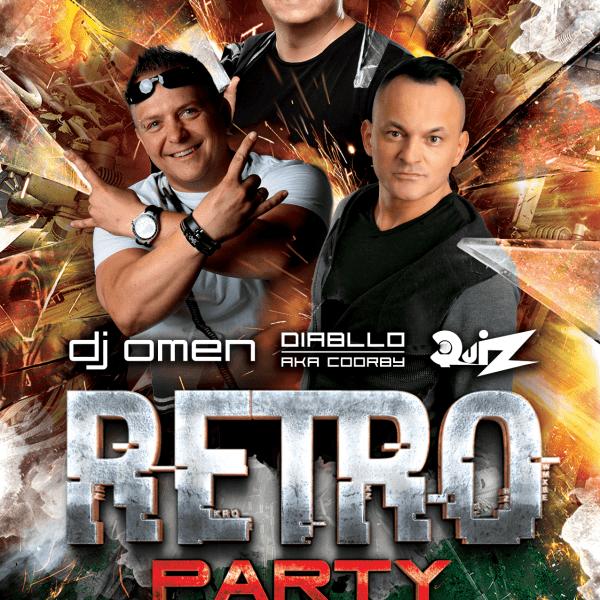 RETRO PARTY ★ OMEN/ QUIZ/ DIABLLO