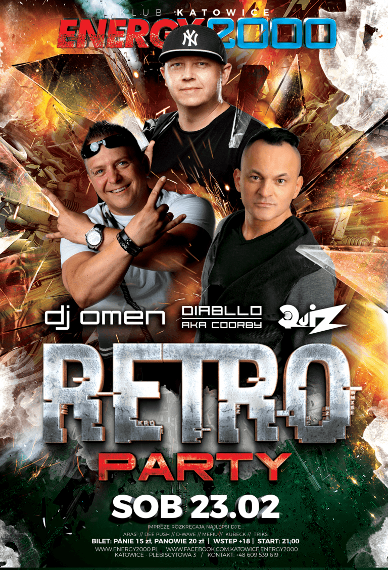RETRO PARTY ★ OMEN/ QUIZ/ DIABLLO