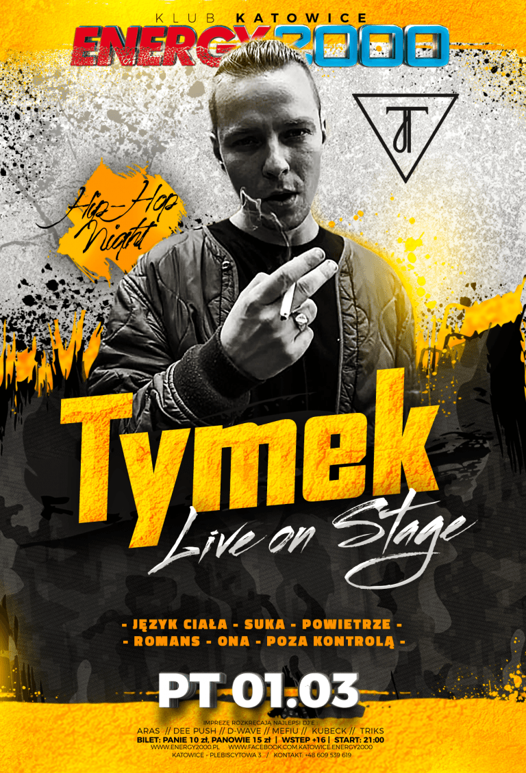 TYMEK ☆ Hip-Hop Night