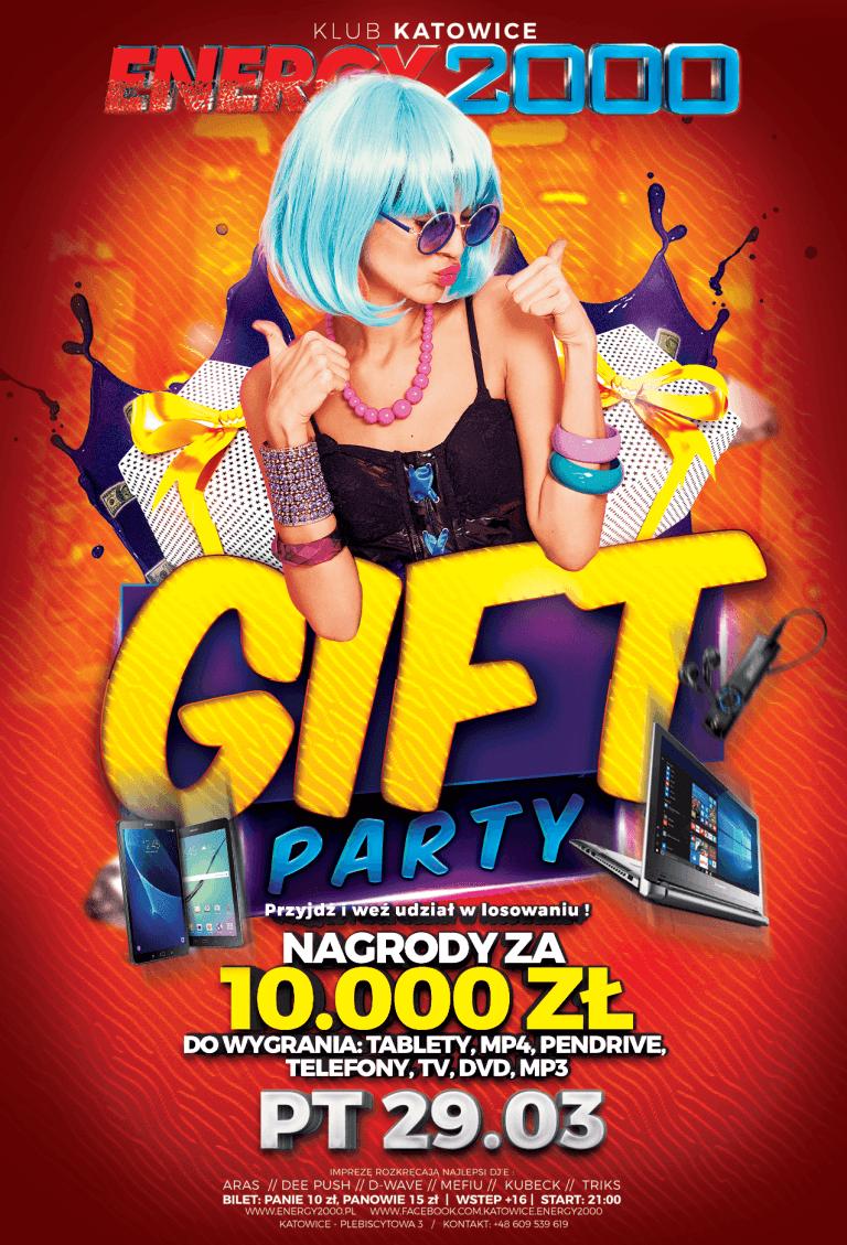 GIFT PARTY ★ Noc prezentów!