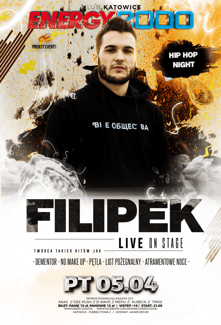 FILIPEK ☆ Hip-Hop Night