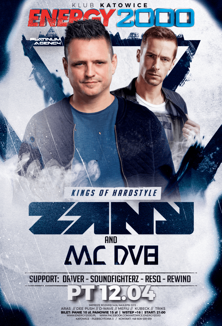 ZANY & MC DV8 ☆ KINGS OF HARDSTYLE