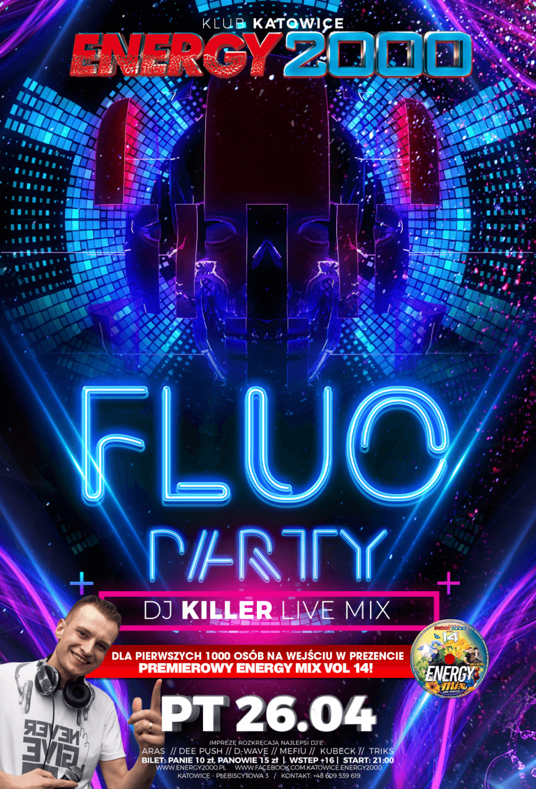 FLUO PARTY ★ DJ KILLER