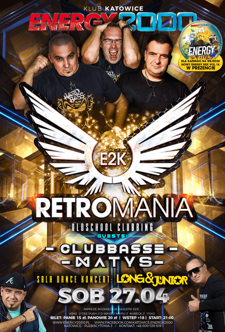 RETROMANIA ★ CLUBBASSE/ MATYS ★ LONG & JUNIOR