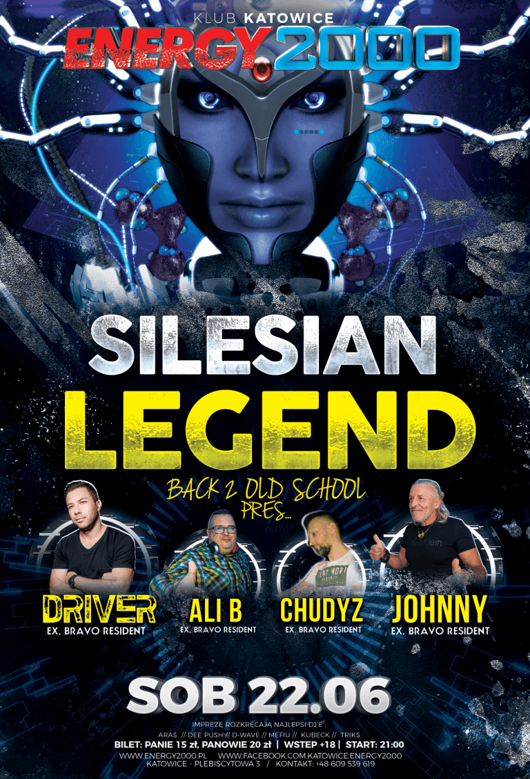 SILESIAN LEGEND ★ DRIVER/ ALI B/ CHUDYZ/ JOHNNY