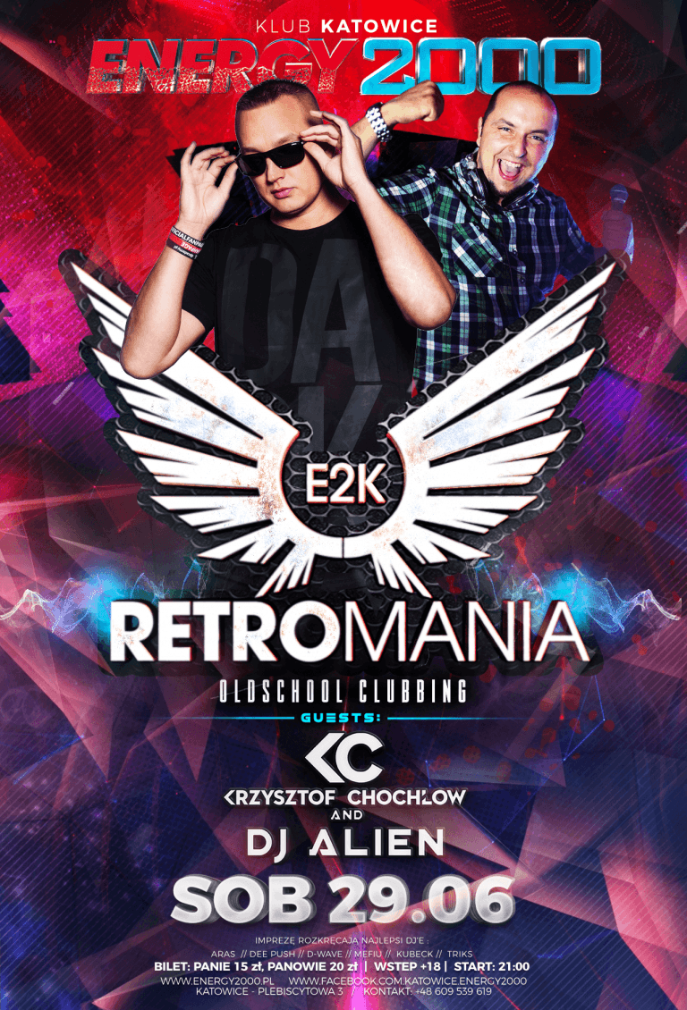 RETROMANIA ★ DJ KC/ DJ ALIEN