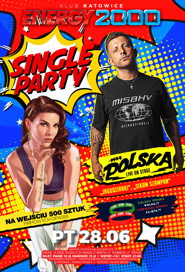 SINGLE PARTY ★ MR. POLSKA